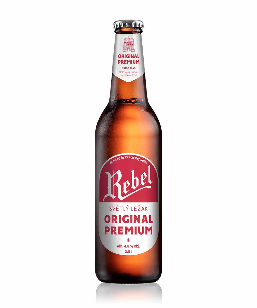 REBEL ORIGINAL PREMIUM / 4,8% VOL – REBEL